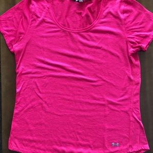 Under Armour Dry Fit scoop neck